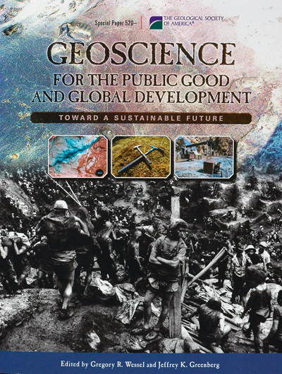 Geoscience book cover